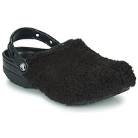 Chaussures Sabots Crocs CLASSIC FUZZ MANIA CLOG Noir