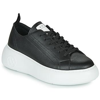 Chaussures Femme Baskets basses Armani Exchange  Noir