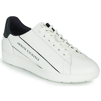Chaussures Homme Baskets basses Armani Exchange  Blanc