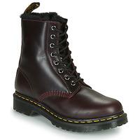 Chaussures Femme Boots Dr Martens 1460 SERENA Bordeaux