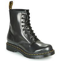 Chaussures Femme Boots Dr Martens 1460 W Argenté