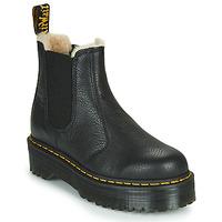 Chaussures Femme Boots Dr Martens 2976 QUAD FL Noir