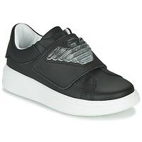 Chaussures Enfant Baskets basses Emporio Armani XYX014-XOI08 Noir