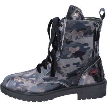Chaussures Femme Boots Fornarina bottines velours gris