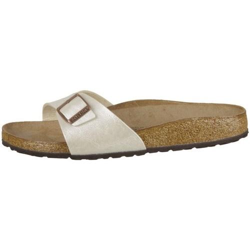 Chaussures Femme Mules Birkenstock Madrid Creme