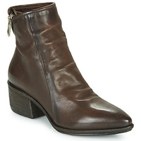 Chaussures Femme Bottines Airstep / A.S.98 PARADE ZIP Marron