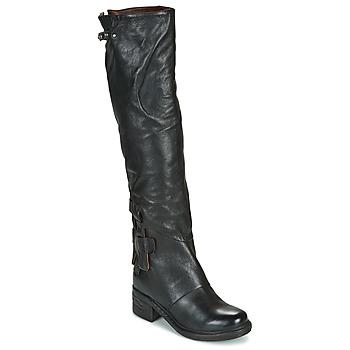 Chaussures Femme Bottes ville Airstep / A.S.98 NOVA 17 HIGH Noir