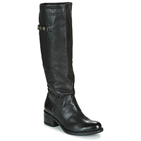 Chaussures Femme Bottes ville Airstep / A.S.98 OPEA HIGH Noir