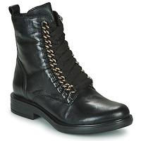 Chaussures Femme Boots Mjus CAFE CHAIN Noir