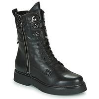 Chaussures Femme Boots Mjus TRIPLE ZIP Noir
