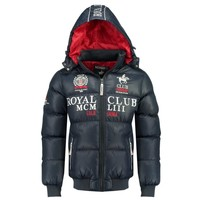 Vêtements Garçon Doudounes Geographical Norway AVALANCHE BOY Marine