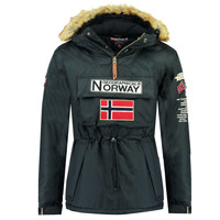 Vêtements Garçon Parkas Geographical Norway BARMAN BOY Marine
