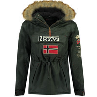 Vêtements Garçon Parkas Geographical Norway BARMAN BOY Gris
