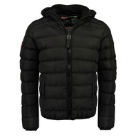 Vêtements Garçon Doudounes Geographical Norway BOMBE BOY Noir