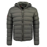 Vêtements Garçon Doudounes Geographical Norway BOMBE BOY Gris