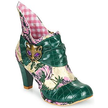 Chaussures Femme Bottines Irregular Choice MIAOW Vert