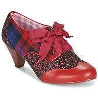 Chaussures Femme Escarpins Irregular Choice END OF STORY Rouge / Bleu