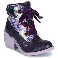 Chaussures Femme Boots Irregular Choice SCARPER Violet
