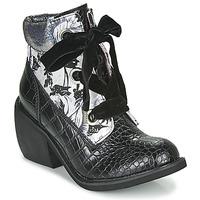 Chaussures Femme Boots Irregular Choice SCARPER Noir