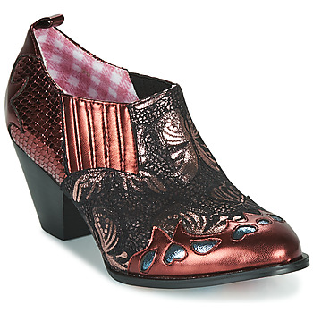 Chaussures Femme Low boots Irregular Choice BARBAROSA Bronze / Rouge