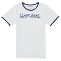 Vêtements Garçon T-shirts manches courtes Kaporal ONYX Blanc