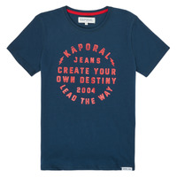 Vêtements Garçon T-shirts manches courtes Kaporal ORVAL Marine
