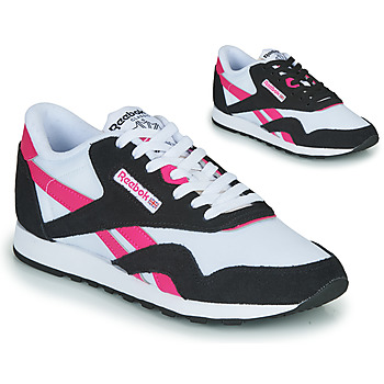 Chaussures Femme Baskets basses Reebok Classic CL NYLON Marine / Rose