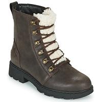 Chaussures Femme Boots Sorel LENNOX LACE COZY Marron
