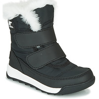 Chaussures Enfant Boots Sorel CHILDRENS WHITNEY™ II STRAP Noir