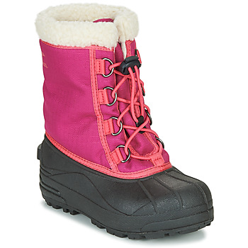 Chaussures Fille Bottes de neige Sorel YOUTH CUMBERLAND Rose