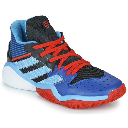 Menstruación accesorios descanso  adidas Performance HARDEN STEPBACK Bleu / Noir - Livraison Gratuite |  Spartoo ! - Chaussures Basketball 89,95 €