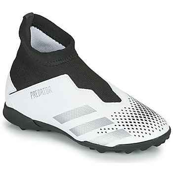 Chaussures Enfant Football adidas Performance PREDATOR 20.3 LL TF Blanc