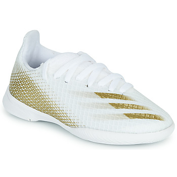 Chaussures Enfant Football adidas Performance X GHOSTED.3 IN J Blanc