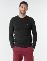 Vêtements Homme Pulls Lyle & Scott KN400VC Noir