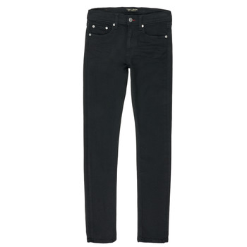 Vêtements Garçon Jeans droit Teddy Smith FLASH Noir