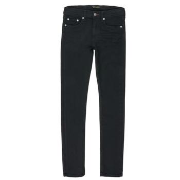 Vêtements Garçon Jeans droit Teddy Smith FLASH Noir