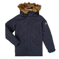 Vêtements Garçon Parkas Teddy Smith ASTIER Marine