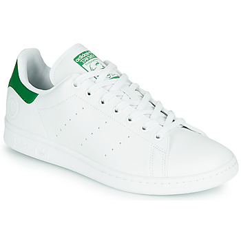Chaussures Baskets basses adidas Originals STAN SMITH VEGAN Blanc / Vert