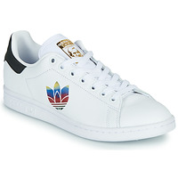 Chaussures Femme Baskets basses adidas Originals STAN SMITH W Blanc / Logo