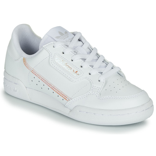 sueño Final regular  adidas Originals CONTINENTAL 80 J Blanc / Iridescent - Livraison Gratuite |  Spartoo ! - Chaussures Baskets basses Enfant 58,49 €