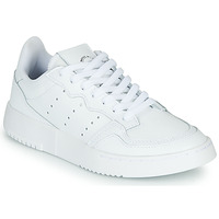 Chaussures Enfant Baskets basses adidas Originals SUPERCOURT J Blanc