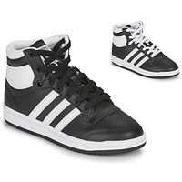 Chaussures Enfant Baskets basses adidas Originals TOP TEN J Noir / Blanc