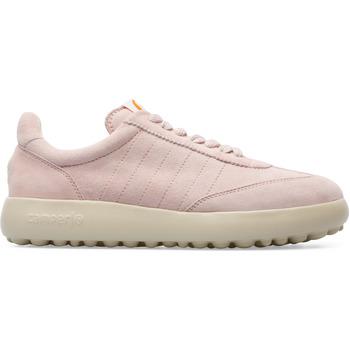 Chaussures Femme Baskets mode Camper Baskets cuir Pelotas XLF rose