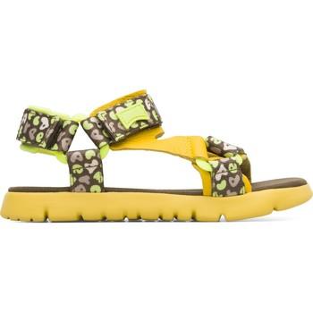 Chaussures Garçon Sandales et Nu-pieds Camper Sandales  Oruga Sandal jaune