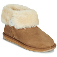 Chaussures Femme Boots EMU ORE FOLD OVER Beige