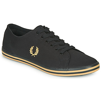 Chaussures Homme Baskets basses Fred Perry KINGSTON TWILL Noir / Doré