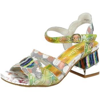 Chaussures Femme Sandales et Nu-pieds Laura Vita hecbino 04 jaune