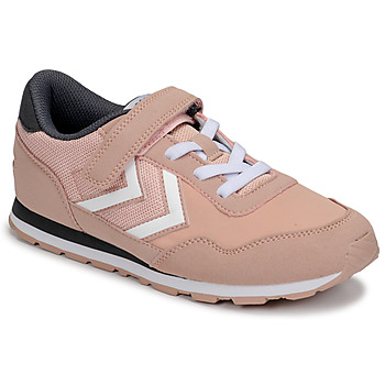 Chaussures Fille Baskets basses Hummel REFLEX JR Rose