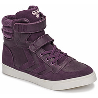 Chaussures Fille Baskets montantes Hummel STADIL WINTER JR Violet
