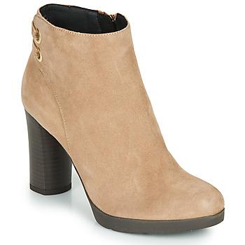 Chaussures Femme Bottines Geox ANYLLA HIGH Beige
